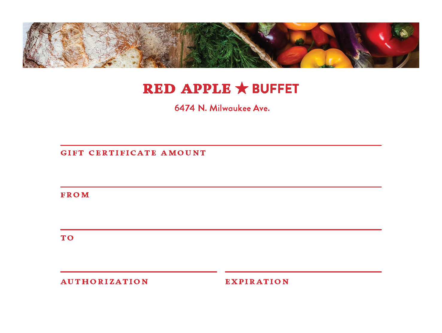 american-buffet